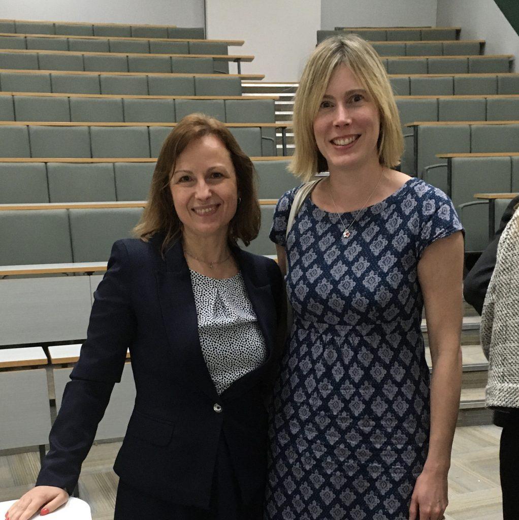 Cristina Falzon and Ann Ferguson